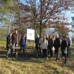 Die Ochsenfurter SPD besichtigt das Goßmannsdorfer Naturschutzgebiet