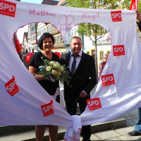Hochzeit von Matthias Gernert und Margit Hornung