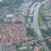 Innenstadt von oben