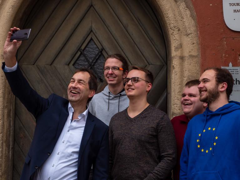 Selfie Rathaus